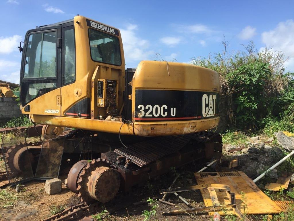 Caterpillar 320C Dismantled for Spare Parts