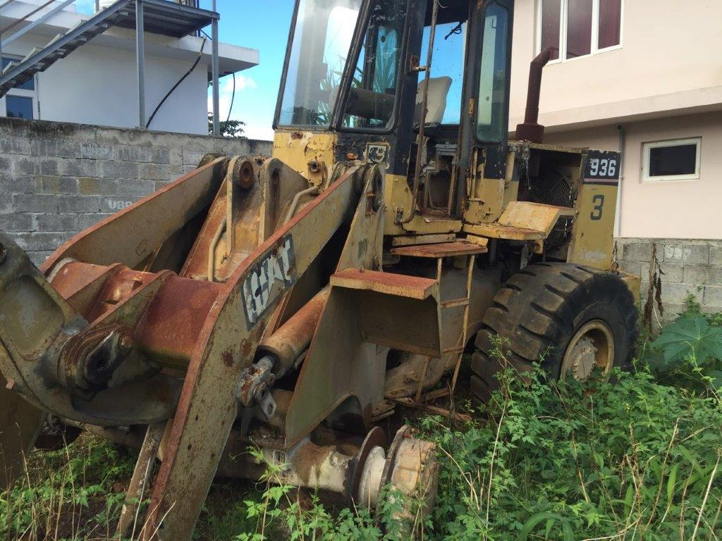 Caterpillar 936 Dismantled for Spare Parts